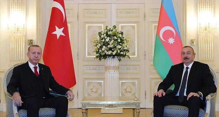 Aliyev'den Erdoğan'a Gara'daki şehitler için başsağlığı mesajı