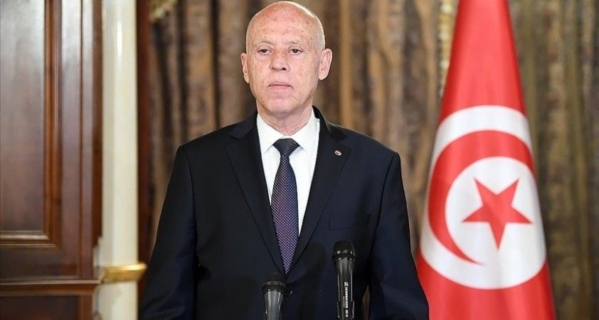 Tunus Cumhurbaşkanı Said: 'Olağanüstü önlemler Tunus'u bekleyen kapıdaki tehlike gerekçesiyle uzatıldı'