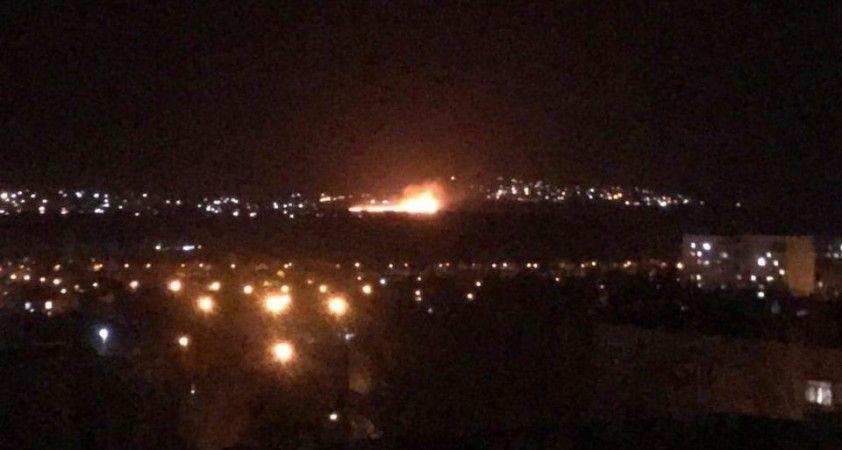 Luhansk'ta şiddetli patlama