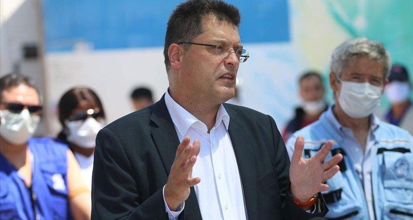 AB Komisyonunun kriz yönetiminden sorumlu üyesi Lenarcic: Türkiye'nin Suriye'ye yönelik yardımlara desteği çok önemli