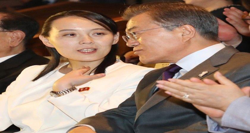 Kuzey lideri Kim Yong-un'un kız kardeşinden Güney Kore liderine: