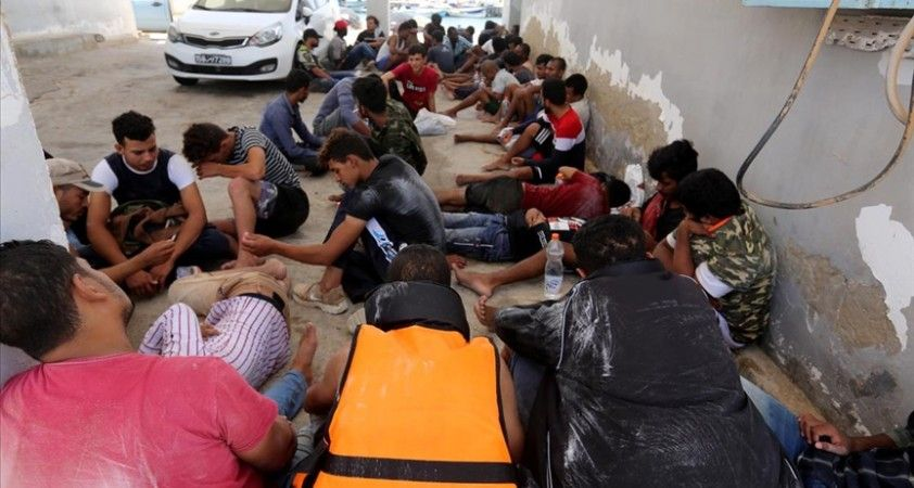 Tunus açıklarında 47 düzensiz göçmen kurtarıldı