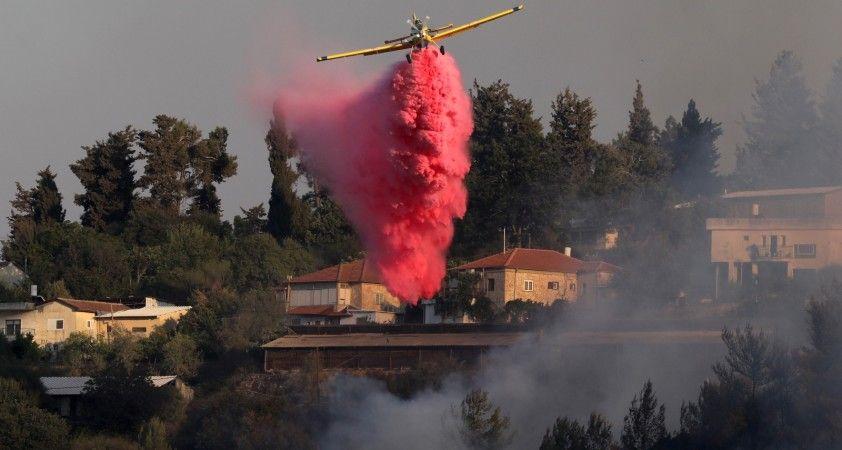 Kudüs'teki orman yangınında 25 bin dönüm alan kül oldu