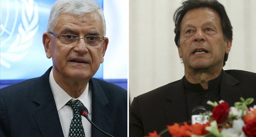 BM 75. Genel Kurul Başkanı Bozkır Pakistan Başbakanı Han ile görüştü