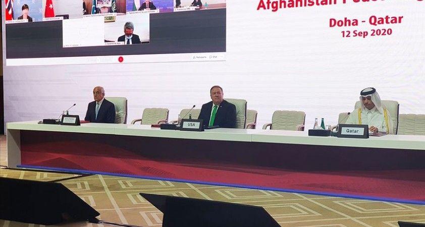 Katar'da Afganlar arası doğrudan barış müzakereleri başladı