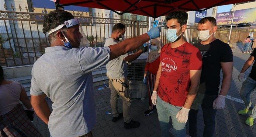 Irak'ta Kovid-19 nedeniyle bir günde 77 kişi hayatını kaybetti