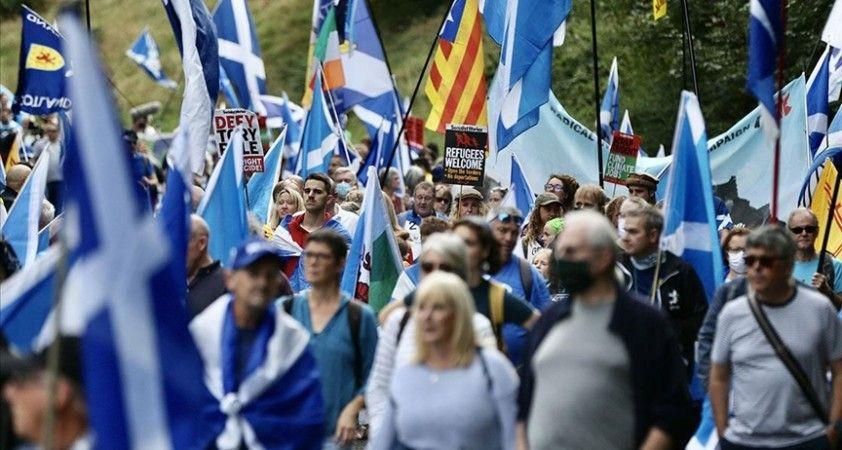 İskoçlar bağımsızlık için yürüdü