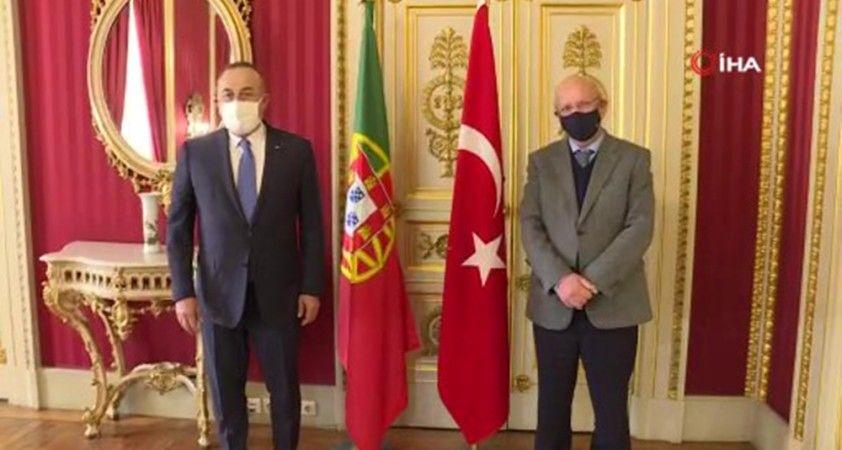 Dışişleri Bakanı Çavuşoğlu, Portekiz Dışişleri Bakanı Silva ile bir araya geldi