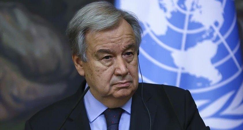 BM'den 'yaptırımların kaldırılması Taliban'ın uluslararası taahhütlerini yerine getirmesine bağlı' açıklaması