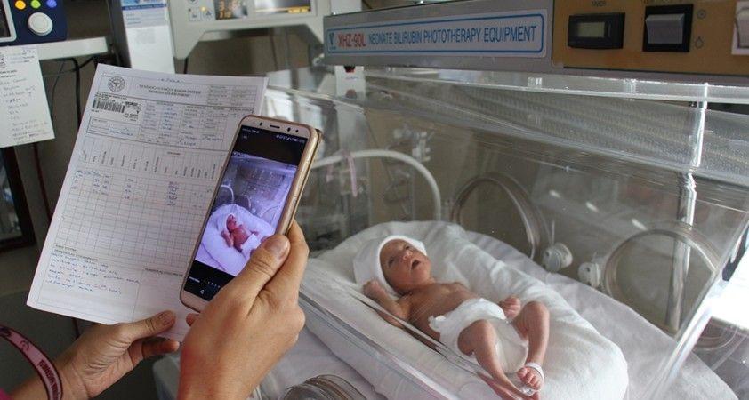 Bebeklerini göremeyen aileler için online sistem