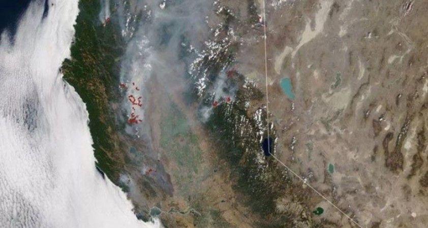 NASA'dan Trump'ın 'büyük afet' ilan ettiği bölgenin uydu görüntüleri