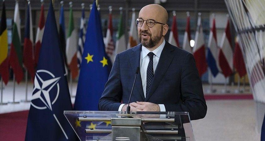 AB: NATO'yu güvenliğimizin temel taşı olarak görüyoruz