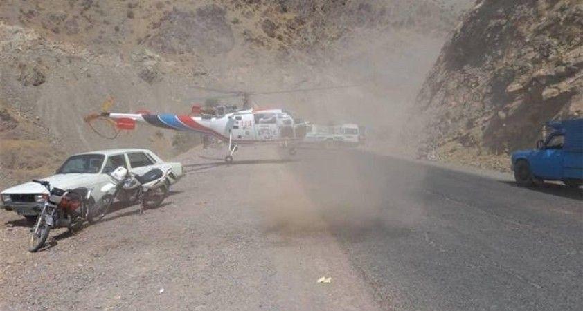 İran'da bir minibüs dağ yolundan aşağıya yuvarlandı: 16 ölü, 12 yaralı