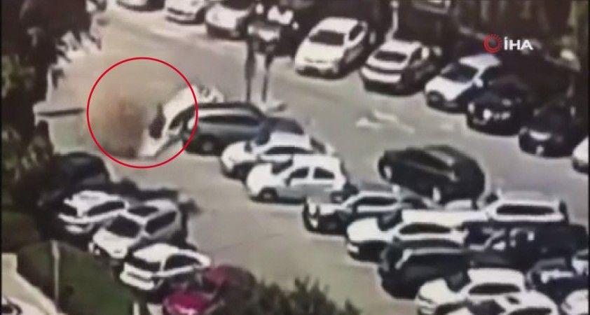Kudüs'te otopark zemini çöktü
