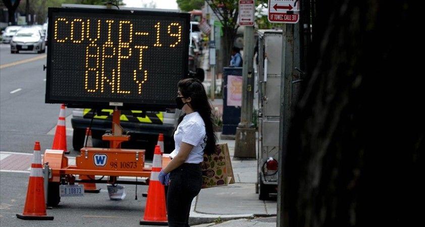 ABD'de Kovid-19 nedeniyle son 24 saatte 1287 kişi hayatını kaybetti