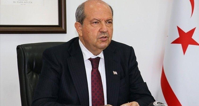 KKTC Cumhurbaşkanı Tatar'dan Guterres'e 'dengeli duruş' teşekkürü