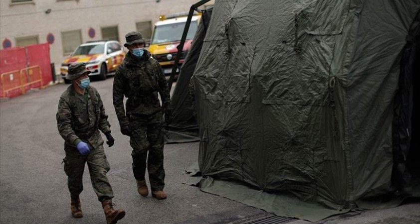 İspanya'da Kovid-19 ile mücadele çalışmalarına asker de destek verecek