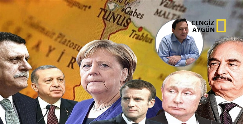Berlin'de Libya'ya mı yoksa petrole mi çözüm arandı?