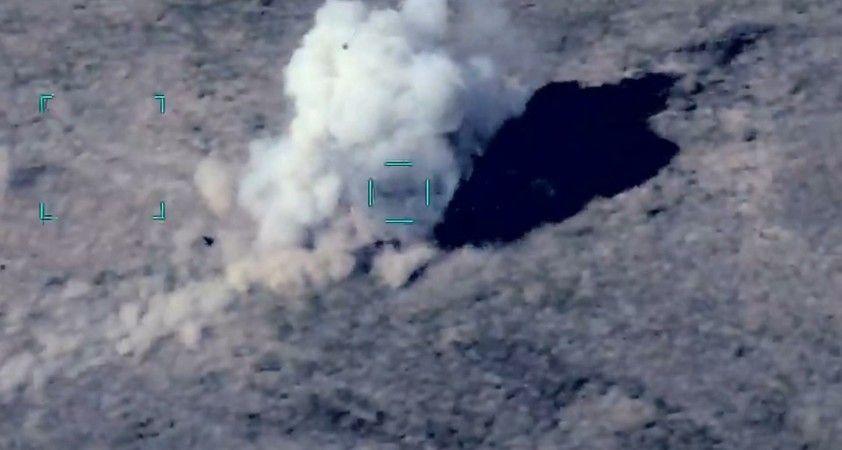 Azerbaycan, saldırı hazırlığında olan Ermenistan'a ait hedefleri vurarak imha etti