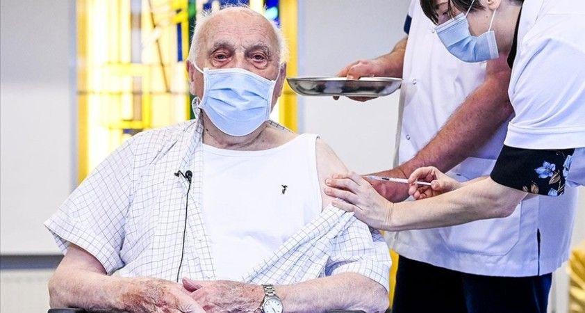 Belçika'da 65 yaş üstü üçüncü doz mRNA aşısı yaptırabilecek