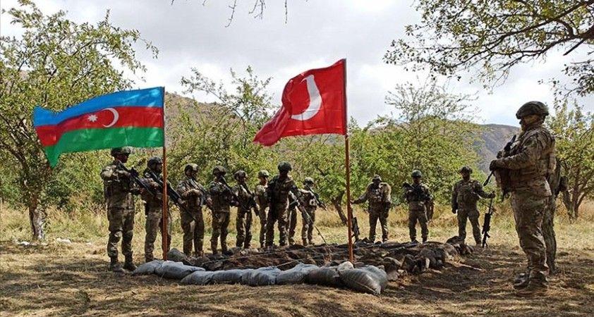 Azerbaycan Dışişleri Bakanlığı: Laçın'daki ortak tatbikat, bölgede istikrarın sağlanmasına hizmet ediyor