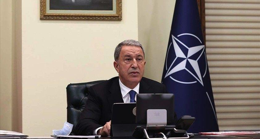 Hulusi Akar NATO Savunma Bakanları Toplantısı'na katıldı