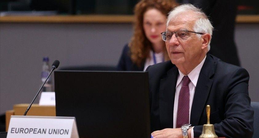 AB Yüksek Temsilcisi Borrell: Taliban, savaşı kazandı ve onlarla konuşmamız gerekiyor
