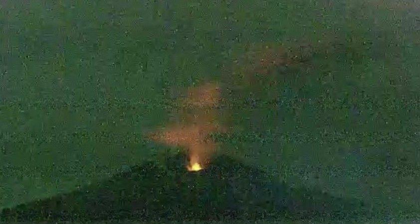 Japonya'daki Otake Yanardağı'nda patlama