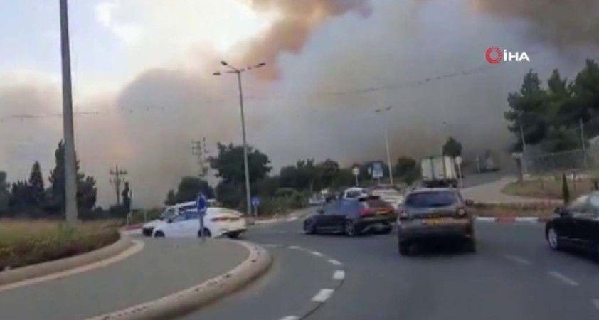 Binlerce İsrailli evinden tahliye edildi