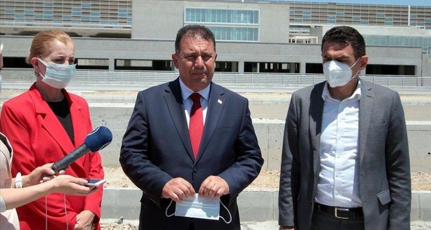 KKTC Başbakanı Saner: En geç 2022 başında Ercan Havalimanı'nın yeni terminalini kullanıma açmayı hedefliyoruz
