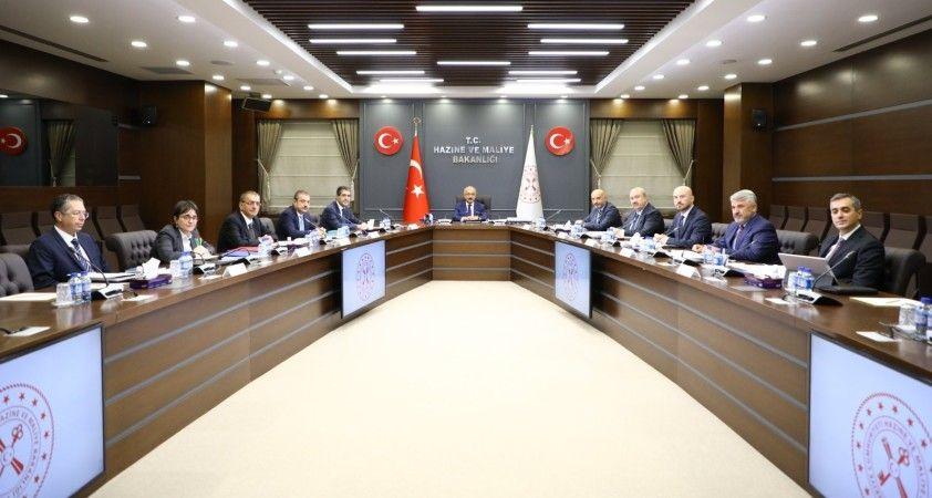 Finansal İstikrar Komitesi Bakan Elvan başkanlığında toplandı