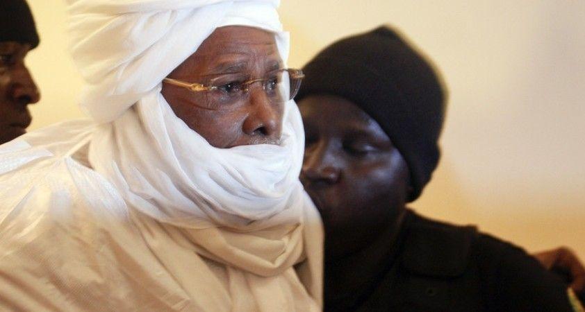 Ömür boyu hapse mahkum edilen Eski Çad Devlet Başkanı Habre, koronadan öldü