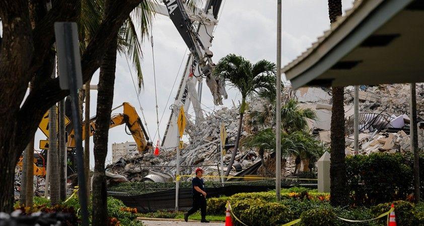 Miami'de çöken 13 katlı binada ölenlerin sayısı 86'ya yükseldi