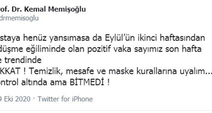 """İstanbul İl Sağlık Müdürü uyardı: """"Pozitif hasta sayımız yükselme trendinde"""""""