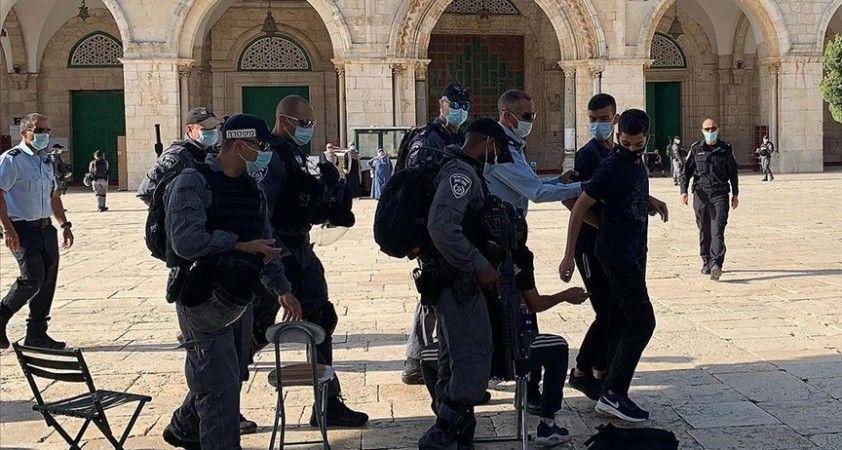 Filistinli Alimler Birliği, İsrail'in Mescid-i Aksa'ya yönelik ihlallerinin durdurulması çağrısı yaptı