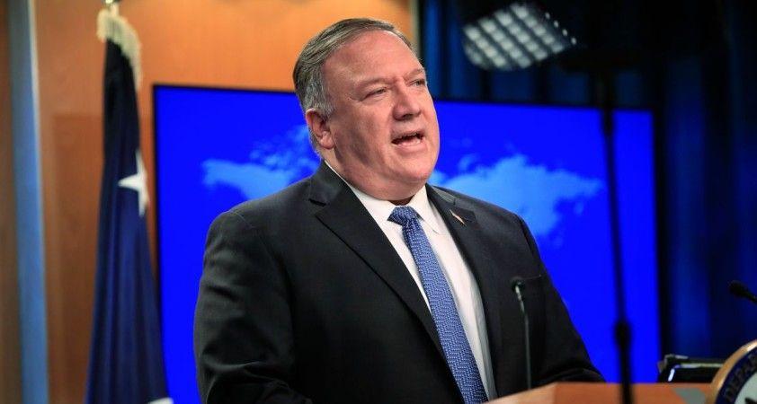 Pompeo, İran'a yönelik yaptırımların geri getirildiğini açıkladı