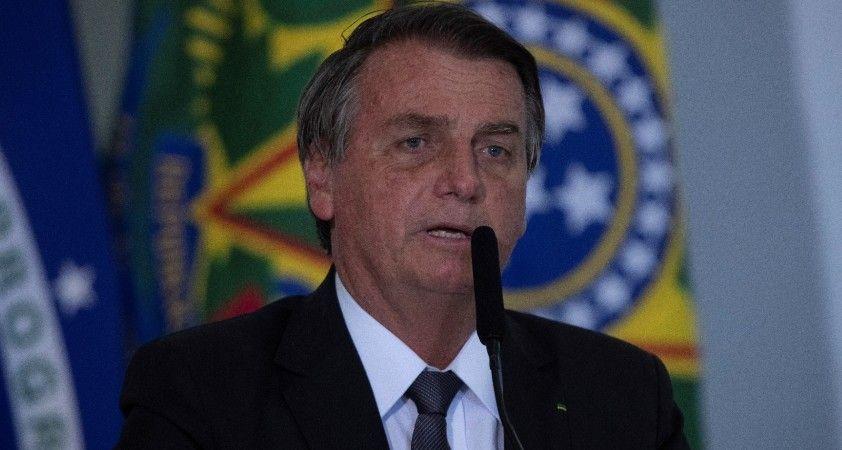 """Brezilya Devlet Başkanı Bolsonaro: """"En kısa zamanda yeniden işbaşında olmayı umuyorum"""""""