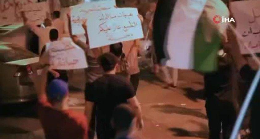 Bahreyn'de halk İsrail ile yapılan anlaşmayı protesto etti