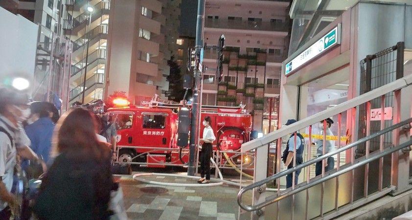 Tokyo metrosunda asitli saldırı dehşeti: 2 yaralı