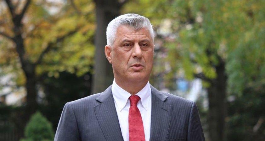 İstifa eden Kosova Cumhurbaşkanı Thaçi 9 Kasım'da hakim karşısına çıkacak