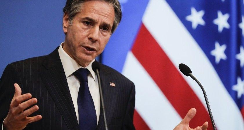 ABD Dışişleri Bakanı Blinken, Orta Doğu turunun ilk durağı Tel Aviv'de