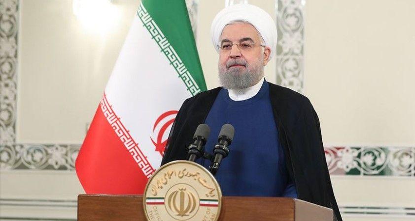 İran Cumhurbaşkanı Ruhani: Yurt dışında bloke edilen döviz kaynaklarımızı kullanabilmek için uğraşıyoruz