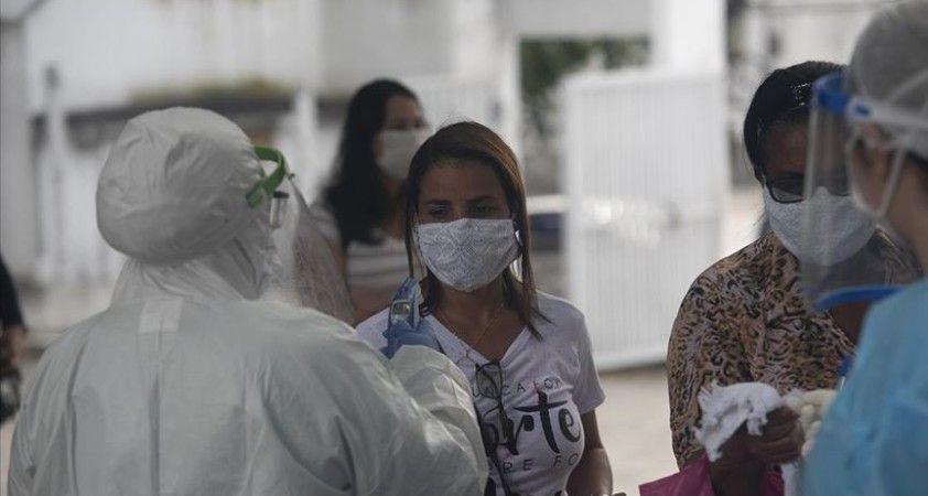 Brezilya'da mayıs ayında 4,2 milyon kişi Kovid-19'a benzer semptomlar gösterdi