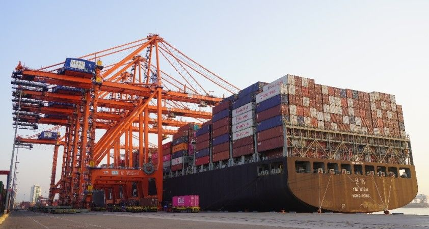 MIP, 185 bin TEU konteyner iş hacmiyle Türkiye rekoru kırdı