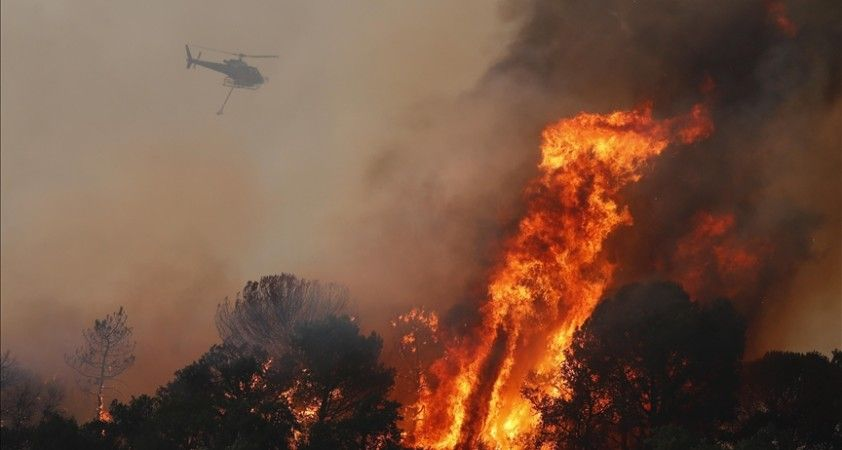 Fransa'nın Var bölgesindeki yangının bilançosu artıyor: 2 ölü