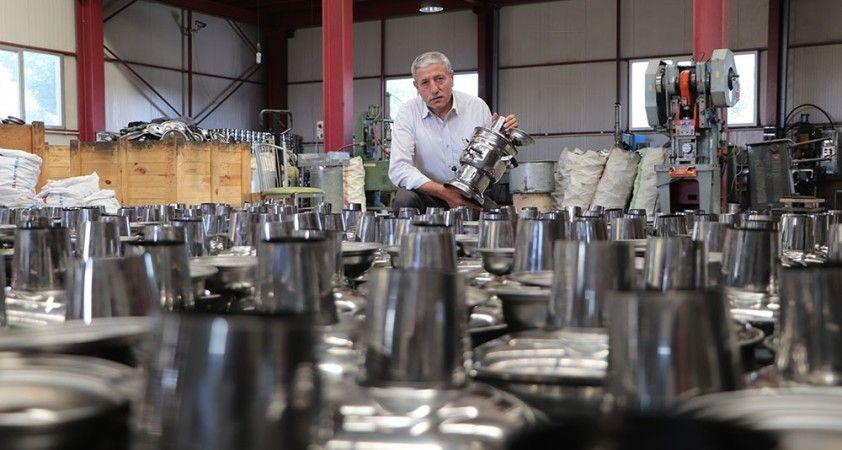 Samsun'da üretilen semaverler dünyaya satılıyor