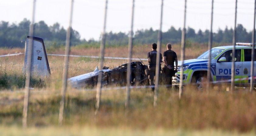 İsveç'teki uçak kazasının bilançosu belli oldu: 9 ölü