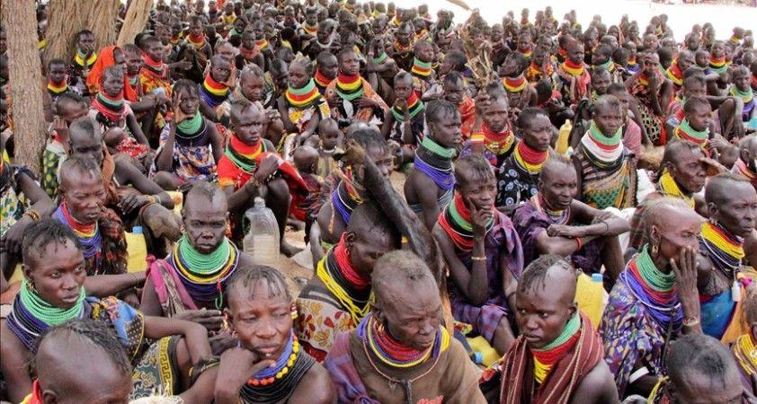 Kenya'da kuraklık nedeniyle 200 bin kişi günde bir öğün yemek tüketebiliyor