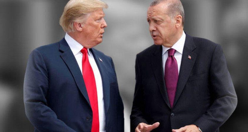 Cumhurbaşkanı Erdoğan, ABD Başkanı Trump'a mesaj gönderdi
