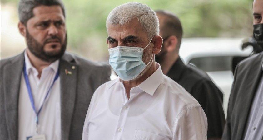 Hamaslı yönetici Sinvar, 'Gazze'de insani durumun iyileştirilmesinin' öncelikleri olduğunu söyledi